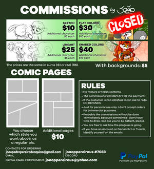 Commissions CLOSED!!!