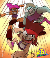 OK K.O. Let's be Heroes by joaoppereiraus
