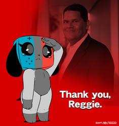 Thank You, Reggie by joaoppereiraus