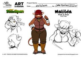 Matilda the Blacksmith by joaoppereiraus