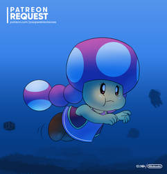 Toadette's Water Course
