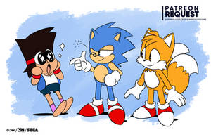KO Meets Sonic and Tails