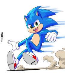 New Sonic Movie Design