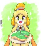 Happy Birthday, Isabelle