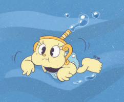 COMM - Ms. Chalice Swimming