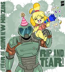 Happy Doom New Horizons Day + Timelapse