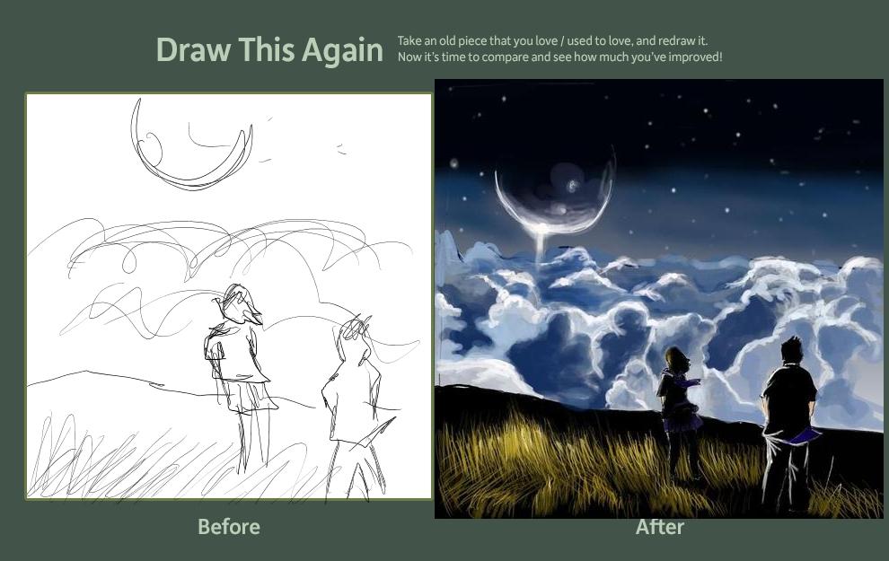 Greta Macedonio Draw this again Challenge by GretaMacedonio