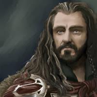 Thorin Oakenshield by GretaMacedonio