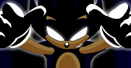 Dark Super Sonic 4 By Thewax On Deviantart