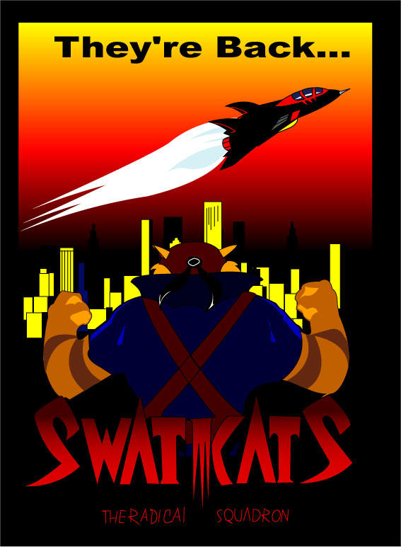 swat kats movie poster by thewax on deviantart