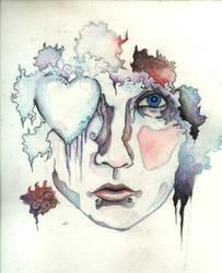 la visage de coeur de samedi by tiny-vertebrae