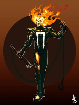 Ghost Rider-Robbie Reyes