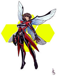 Wasp-Nadia Pym/Van Dyne by pychopat2