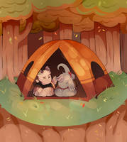 [ September Prompt ] - Camping Mood by buffbears