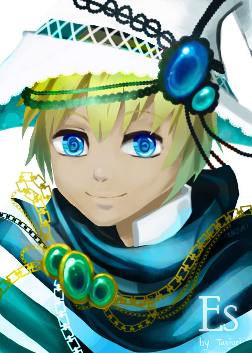 OC : Fantasy Blue Eye by Tasjuri