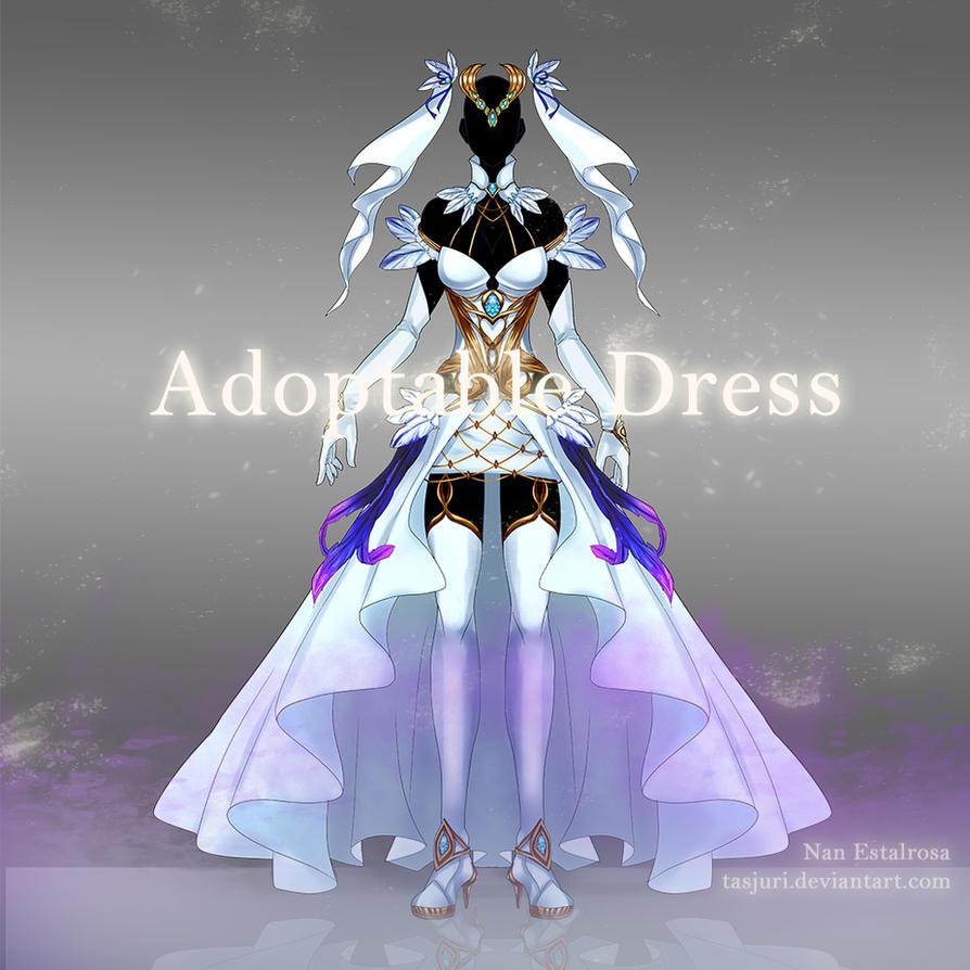 [Open] Adoptable Dress 01 by Tasjuri
