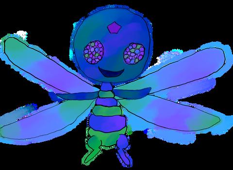 Fritzz - Dragonfly Kwami - Miraculous Ladybug