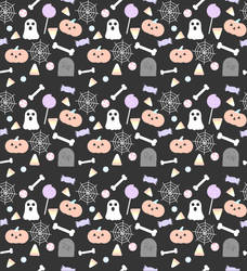 Free to Use Pastel Halloween Background