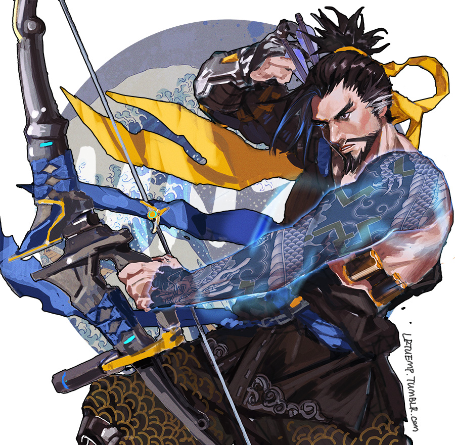 Hanzo Wallpaper: Hanzo By Noax13 On DeviantArt