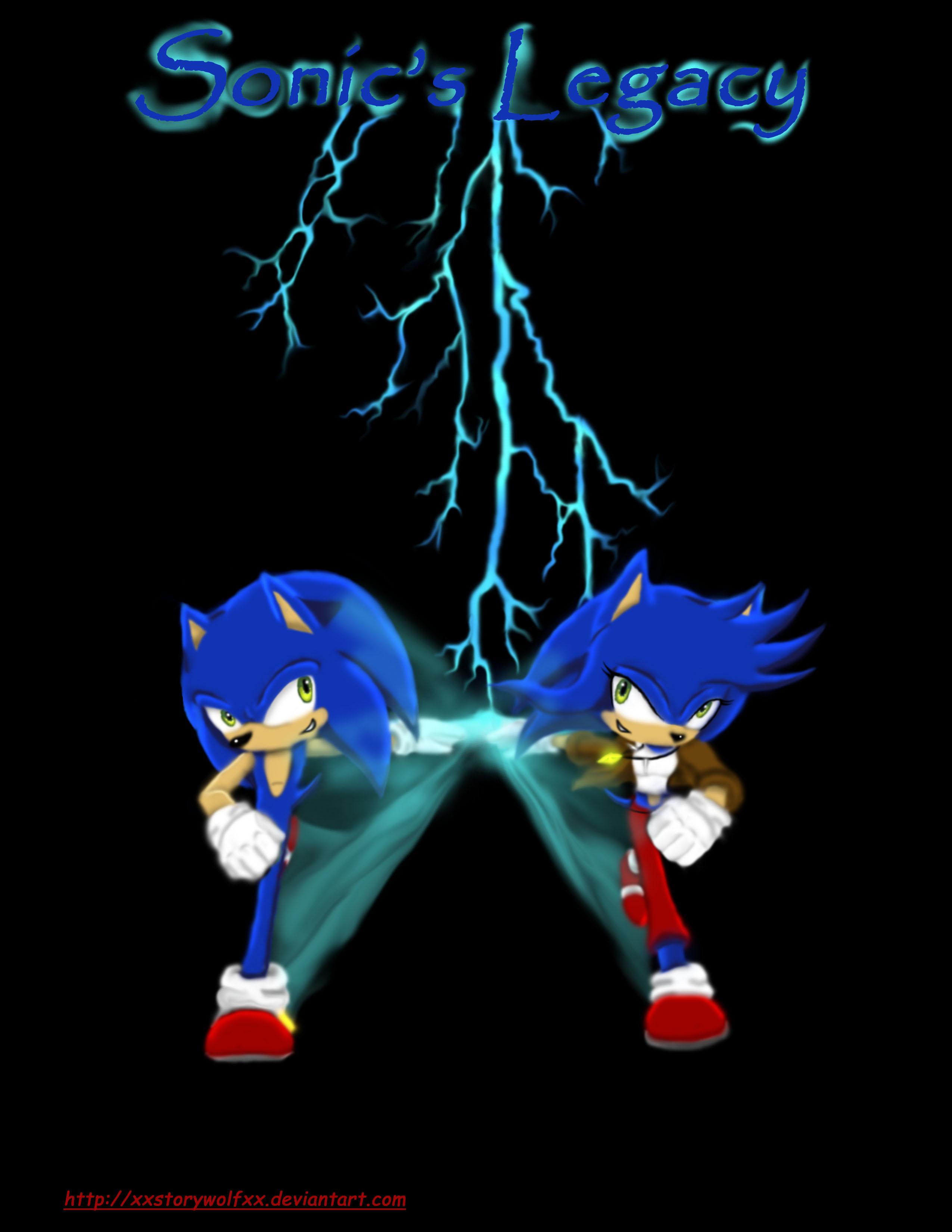 Sonic's Legacy Cover by xXStoryWolfXx