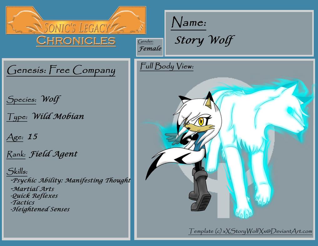 SLC Profile Story Wolf by xXStoryWolfXx