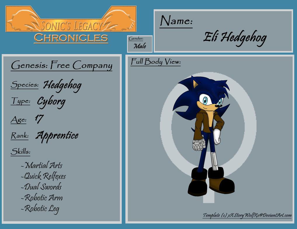 SLC Eli Hedgehog Request by xXStoryWolfXx