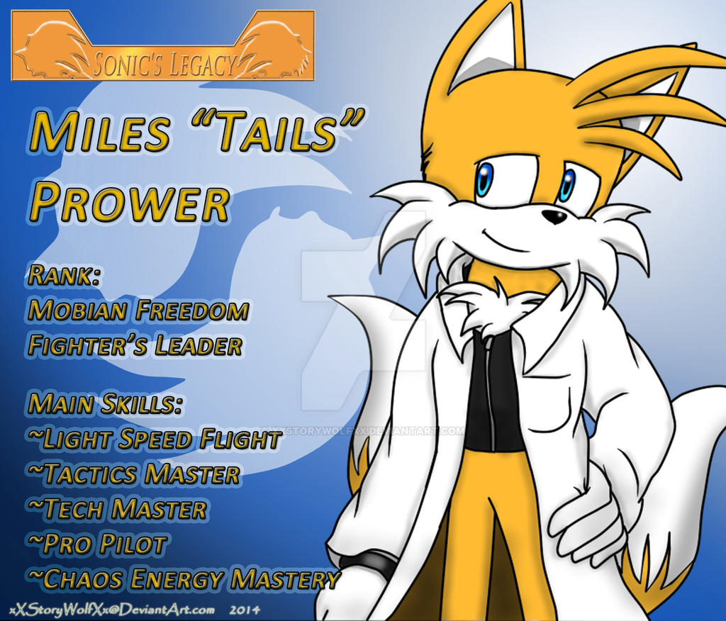 SL/SLC Profile NPC Tails Prower By XXStoryWolfXx On DeviantArt