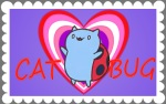 Catbug Love by sailorcelestial