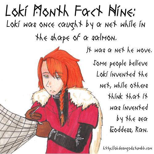 Loki Fact Nine - The Net by Rei-Yami-Hikari