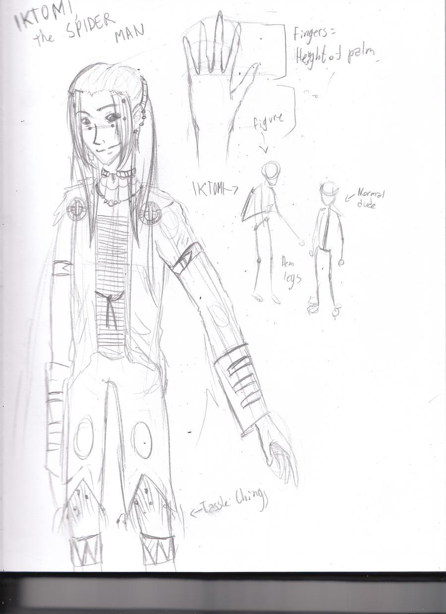 IKTOMI - THE SPIDER-MAN CONCEPT by Rei-Yami-Hikari