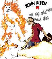 John vs Polar Bear by Niklix-Broomsbane