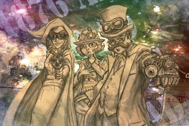 Travelers by Niklix-Broomsbane