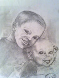 Sister's Kids by Niklix-Broomsbane