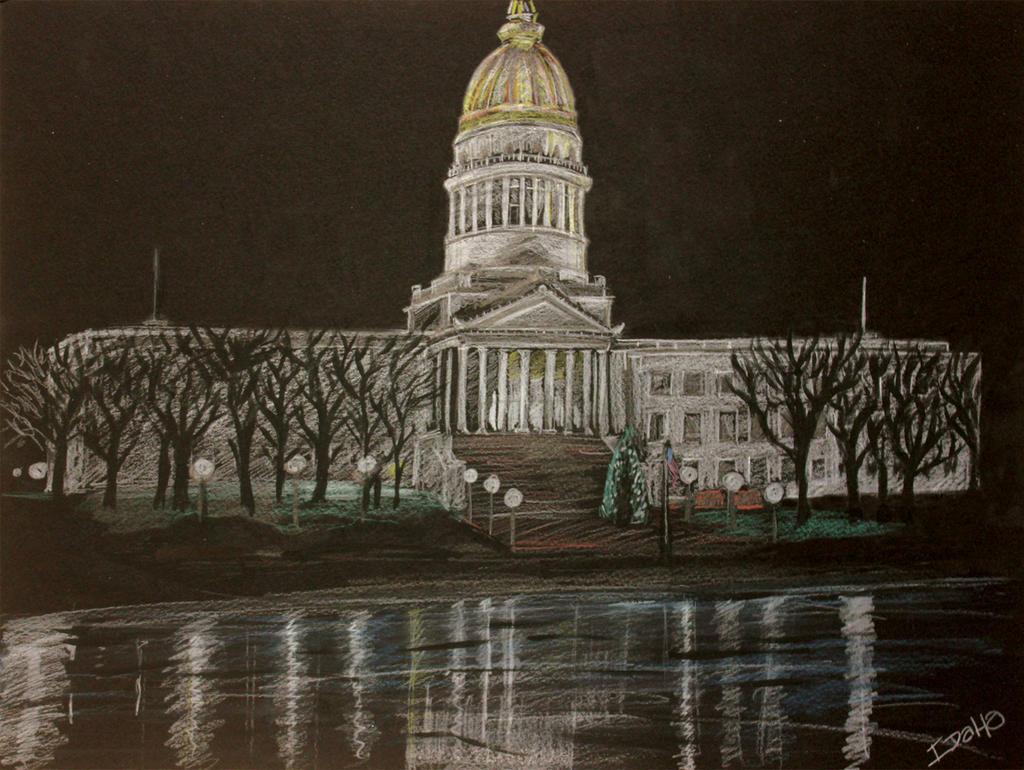 Charleston, WV Capitol Building by Niklix-Broomsbane