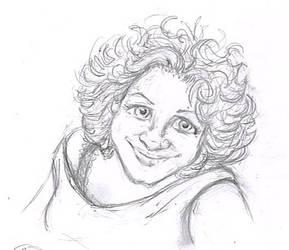 sketch portrait by Niklix-Broomsbane