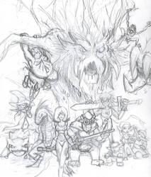 Warriors of Light by Niklix-Broomsbane