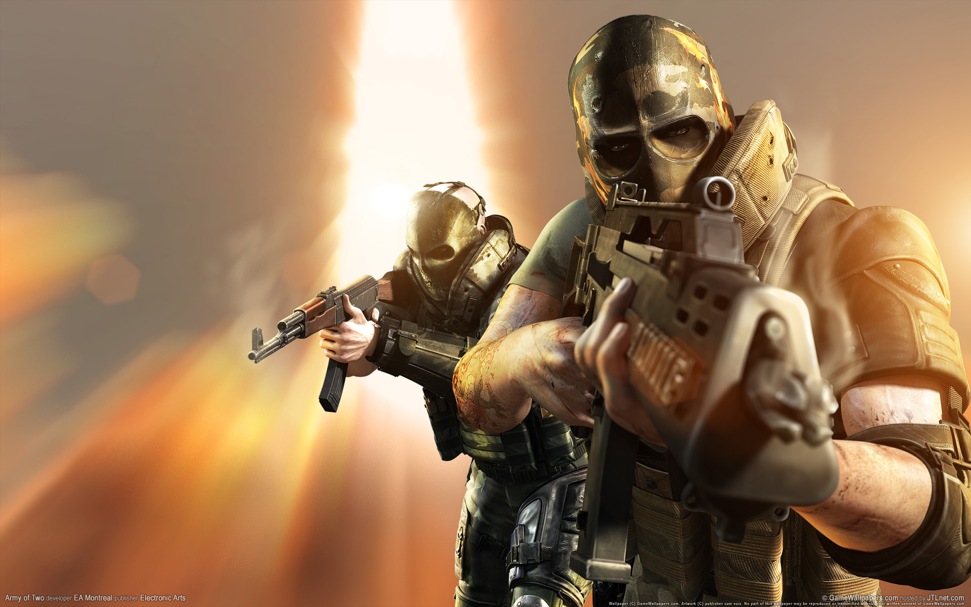 Army Of Two Wallpaper By McFlavus On DeviantArt