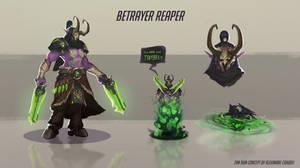 Demon hunter Reaper skin concept