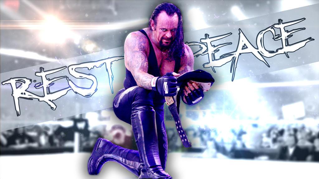 Rest In Peace Wallpaper The Undertaker By Shenpls On