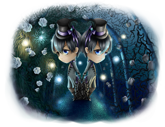 .:Phantomhive Twins:. by queen-of-rainbows