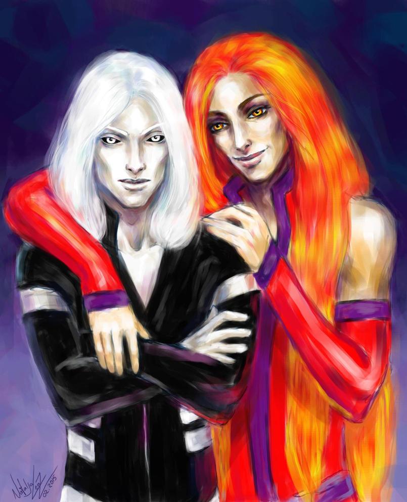 Daiven and Sair by NAtlantida