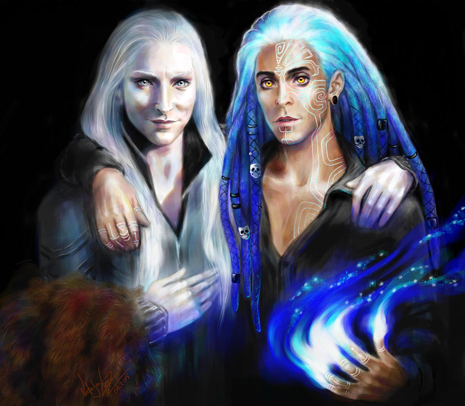 Necromancers Victor and Victor by NAtlantida