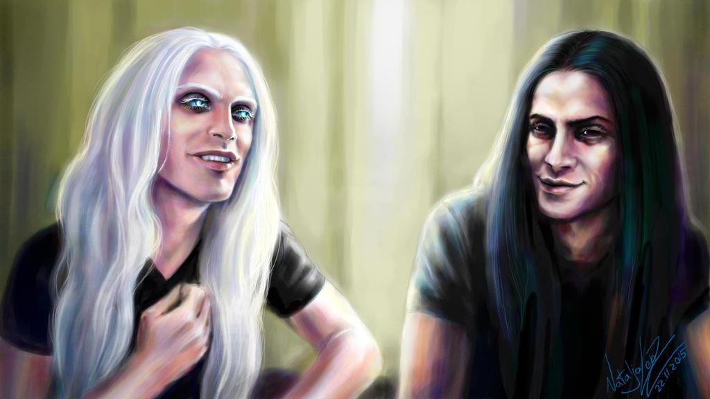 Cameron and Merlin ))) by NAtlantida