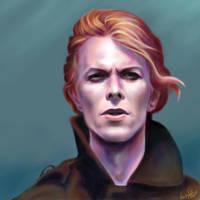 in memory of David Bowie by NAtlantida