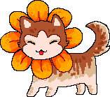Sunflower Kitty by R0BUTT