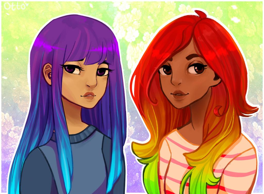 Fkn Rainbow Girlfriends by R0BUTT