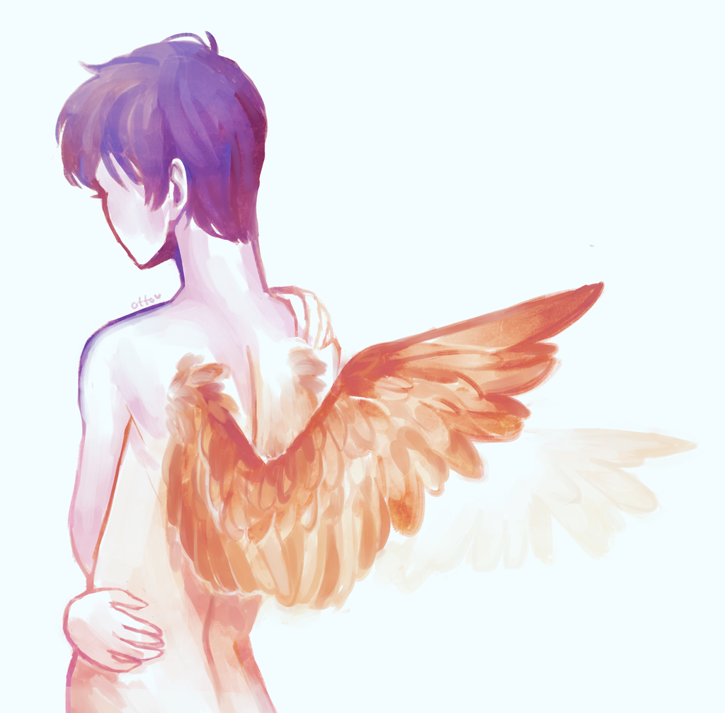 Golden wings by R0BUTT