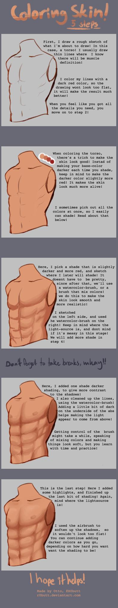 { Tutorial } Skin by R0BUTT