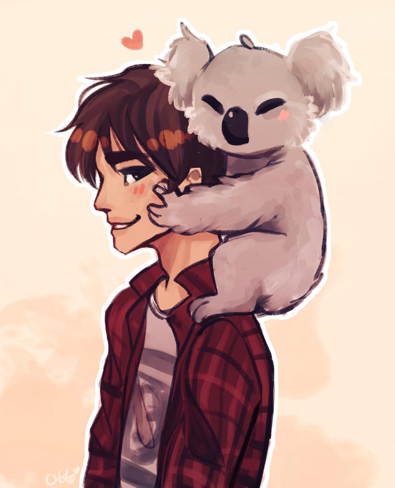 Koala by R0BUTT