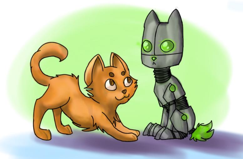 Kitty Bot by R0BUTT